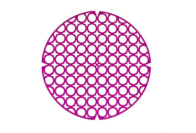 sink drain mat (round)