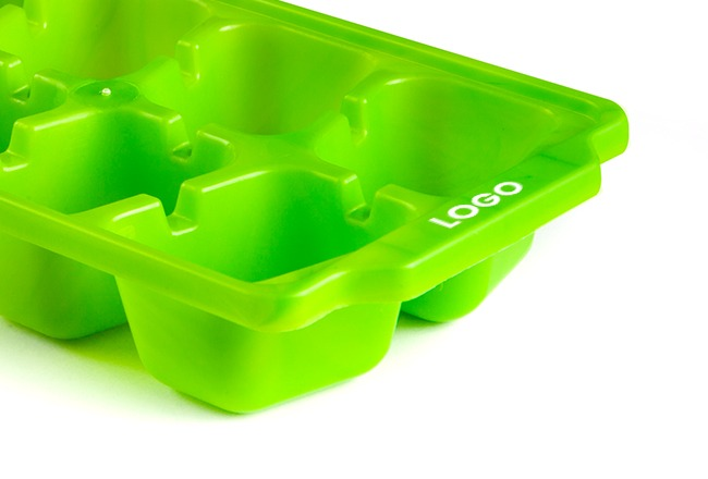 branded ice cube tray