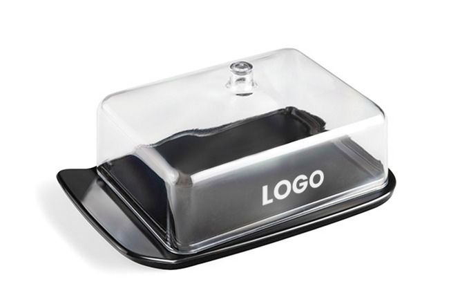 branded butter dish